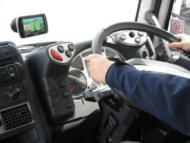 Sat Nav for Truck Drivers
