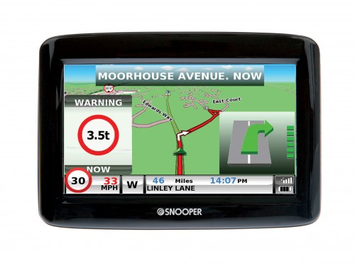 Snooper Truckmate S900 Satellite Navigation for Truck Drivers